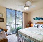 Second bedroom offers a Queen bed