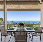 Upper lanai with gorgeous ocean views