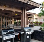 Waikoloa Colony Villas BBQ area