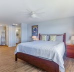 Plenty of space to relax in the master bedroom.