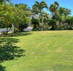 Large front yard