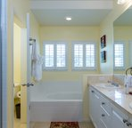 Large Master Bath with Walk-in Shower and Soaking Tub