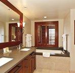 Master Bathroom with Large Soaking Tub