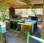 Resort BBQ area