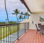 Lanai with Ocean and Golf Course Views