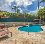Pool just steps from your Lanai!