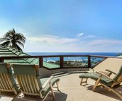 Upper Sun Deck Lanai with Great Ocean Views off Master Bedroom