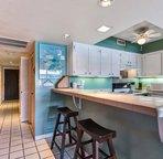 Kitchen with breakfast bar...