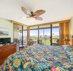 Master Bedroom With Flatscreen TV