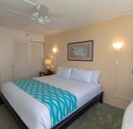 Bedroom is larger than most Waikiki condos