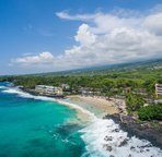 Walking distance to Kona Magic Sands Beach