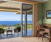 Master Bedroom with beautiful view and lanai access