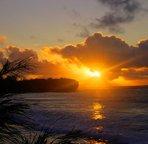 Sunrise at Shipwreck Beach