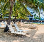 Private sandy area just for Casa de  Emdeko guests