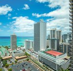 Lanai view of Waikiki