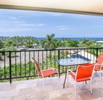 Nice ocean view from the lanai