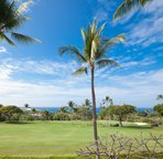 Views of the golf course and ocean