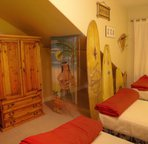 Another view of the Surfer's bedroom