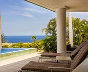 Lounge Pool Side With Ocean Views