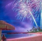 Fireworks at the Lagoons