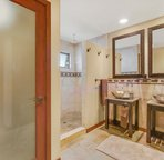 En Suite to Master Suite 1 with Double Sinks and Walk in Shower