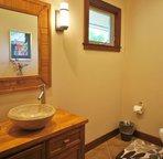 Half Bathroom off Hallway