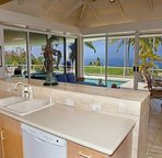 Kitchen with Sitting & Dining Area with Ocean Views