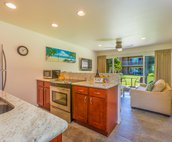 Modern Stainless Kitchen, Living Room and lanai.