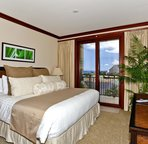 The Master Bedroom has Private Access to the Lanai