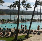 Pool at Turtle Bay Resort. Walking distance