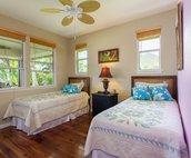 Bedroom 3 includes 2 twin beds