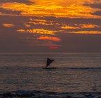 Picturesque Kona Sunset