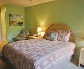 Bedroom includes a Queen Bed