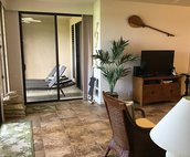 Living Area with Lanai access
