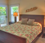 Master Bedroom with King Bed Opens to Private Lanai