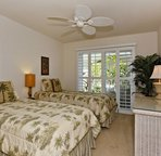 Second Bedroom with Twin Beds that can be converted to a King upon request
