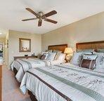 Bedroom 2 with 2 Queen Beds