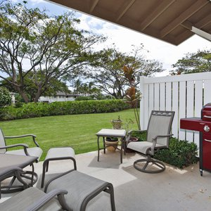 The Lanai and Backyard