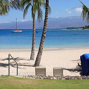 Access to Mauna Lani Beach Club