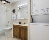 Bathroom 2 with In-Unit Washer/Dryer
