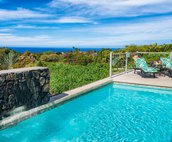 Private Pool include beautiful Pacific Ocean views!
