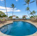Relax in the Ocean View Pool and Hot Tub!