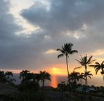 Beautiful Kona Sunsets