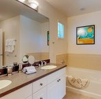Master Bath with a Tub and a Walk-in Shower