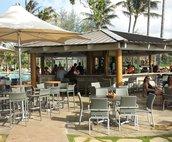 Popular Pool Bar at the Resort.