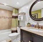 Bathroom 3 off the kitchen