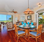 Dining Area with a View to the Ocean