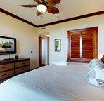 Flat Screen TV in Master Bedroom