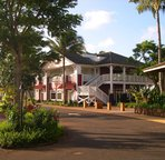 Kukui'Ula village has great shopping botiques and restaurants