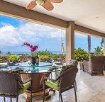 Large Lanai offers ample seating